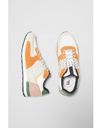 French Connection Multi Panel Runner Sneakers - Multicolor