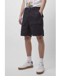 French Connection Herringbone Shorts - Black