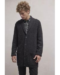 French Connection - Oversized Donegal Cardigan - Lyst