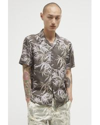French Connection - Bamboo Print Lyocell Shirt - Lyst