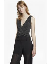 French Connection | Marcelle Shimmer Jersey Body | Lyst