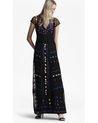 French Connection - Coachella Embroidered Maxi Dress - Lyst