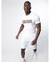 Fresh Couture Horizon T-shirt - White