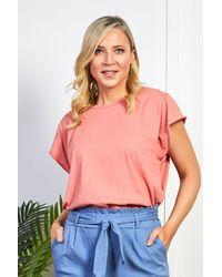 Friday's Edit Peach T-shirt - Multicolour