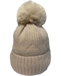 Friday's Edit Suzie Cable Hat With Bobble - Multicolour