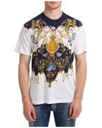 Versace Jeans Couture T-shirt maglia maniche corte girocollo uomo - Bianco
