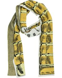 Moschino Women's Wool Scarf - Natural