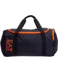 EA7 Men's Fitness Gym Sports Shoulder Bag - Blue