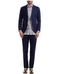 Gabriele Pasini Men's Suit Roma - Blue