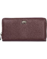 Dolce & Gabbana - Men's Wallet Genuine Leather Coin Case Holder Purse Card - Lyst