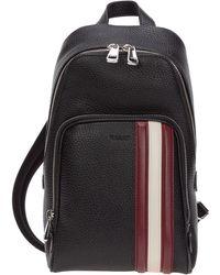 Bally - Men's Leather Rucksack Backpack Travel Colimar - Lyst