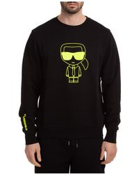 Karl Lagerfeld Men's Sweatshirt Sweat K Iconic - Black