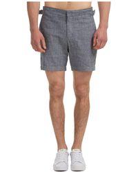 Michael Kors Men's Shorts Bermuda - Grey