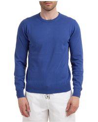 AT.P.CO Maglione maglia uomo girocollo - Blu