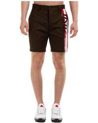 DSquared² Bermuda shorts pantaloncini uomo - Nero