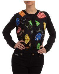 Moschino Women's Cardigan Sweater - Black