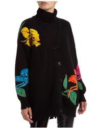 MSGM Women's Jumper Jumper Turtle Neck - Black