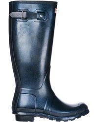 online store d46d0 5fa40 Stivali da pioggia donna in gomma wellington tall starcloud - Blu