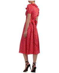 Marc Jacobs - Women's Knee Length Dress Short Sleeve - Lyst