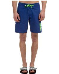 EA7 Boxer Swimsuit Bathing Trunks Swimming Suit - Blue