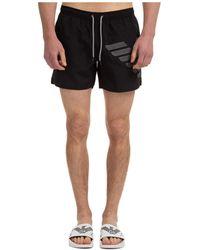 Emporio Armani Trunks Swimsuit - Black