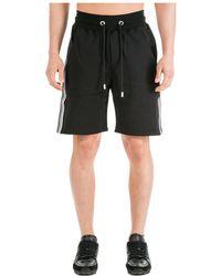Gcds Men's Shorts Bermuda - Black