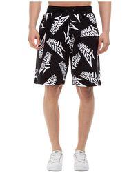 Givenchy Men's Shorts Bermuda - Black