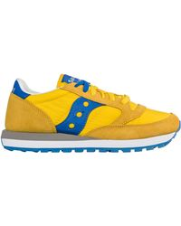 Saucony Men's Shoes Suede Sneakers Sneakers Jazz - Multicolour