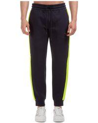 Emporio Armani Men's Sport Tracksuit Pants - Blue