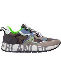 Voile Blanche Men's Shoes Suede Trainers Trainers Club01 - Multicolour