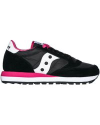 Saucony Women's Shoes Suede Trainers Trainers Jazz O - Black