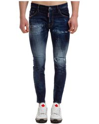 DSquared² Men's Jeans Denim Skater - Blue