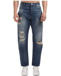 Emporio Armani Men's Jeans Denim - Blue