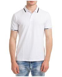 Emporio Armani T-shirt maglia maniche corte girocollo uomo - Bianco