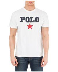 Ralph Lauren T-shirt For Men - White