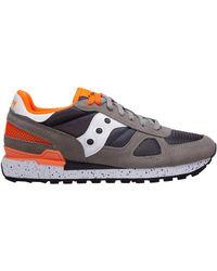 Saucony Men's Shoes Sneakers Sneakers Shadow - Grey