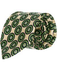Prada Men's Silk Tie Necktie - Green