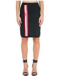 Gcds Women's Skirt Mini Short - Black