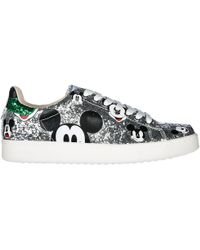 MOA Women's Shoes Leather Sneakers Sneakers Disney - Multicolor