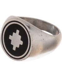 Marcelo Burlon Ring Cross - Metallic