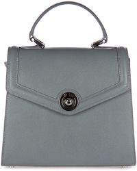 d''Este Women's Leather Handbag Shopping Bag Purse Monaco - Multicolour