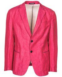 Emporio Armani Men's Jacket Blazer - Pink