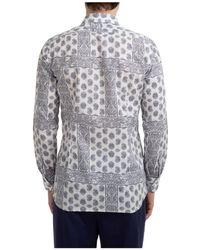Gabriele Pasini Long Sleeve Shirt Dress Shirt - White