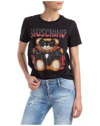 Moschino Women's Round-neck T-shirt - Black
