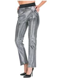 Ermanno Scervino Women's Trousers Trousers - Grey