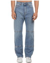 MSGM Jeans Denim - Blue