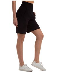 Alberta Ferretti Pantaloncini Corti Shorts Bermuda - Black