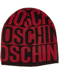 Moschino Women's Beanie Hat - Red