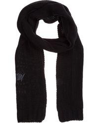 Emporio Armani Women's Scarf - Black