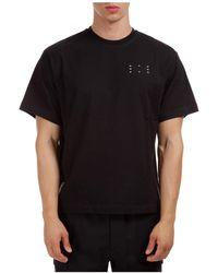 McQ T-shirt maglia maniche corte girocollo uomo - Nero